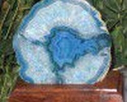 Agate épaisse socle stgaes