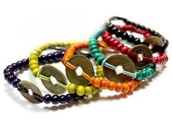 Bracelet feng shui rouge LSGBFGx-03