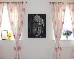 Tableaux de Bali Bouddha argenté