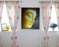 Peinture d'Art Bouddha doré