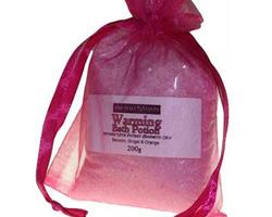 Sel de bain aromathérapie «Tendresse»  Aide à s'ouvrir à la douceur, à l'amour et à prendre soin de vous, réconforte et apaise  !