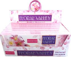 Encens Nandita explosion de fleurs floral valley