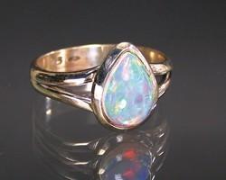 Bague opale argent 0.925