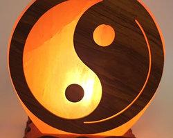 Lampe de Sel Himalaya Ying-Yang